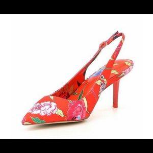 Aldo Criewiel sling back kitten heels